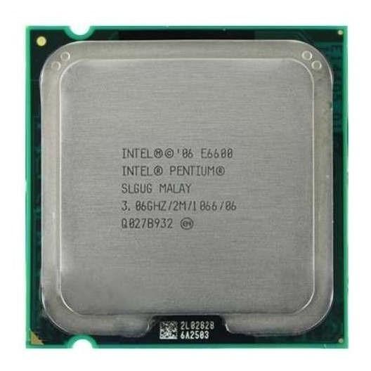 Processador Intel Pentium Dual Core E6600 3.06ghz