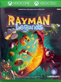 Rayman Legends Xbox360 Original Lacrado
