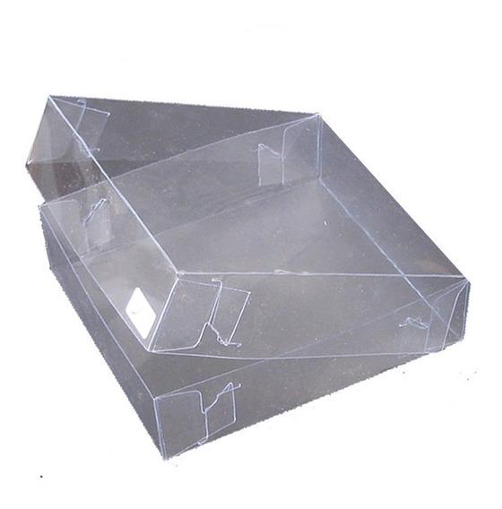 10 Cajitas Cajas De Acetato Transparente Plastico 10x11x3