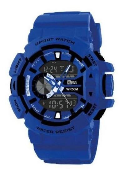 Reloj Revive Kr0706 Azul Hombre