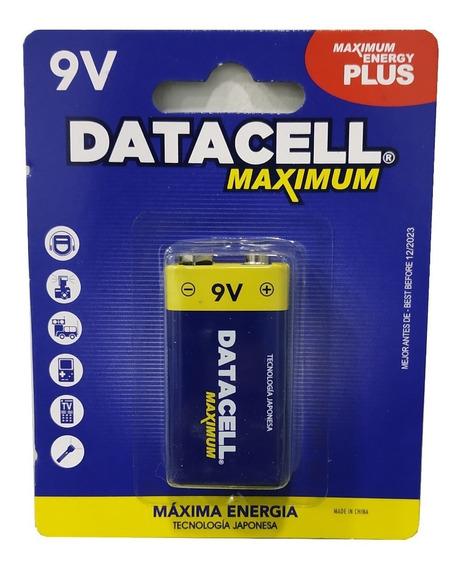 Pila Bateria 9v Cuadrada Caja 12 Unidades Mayor