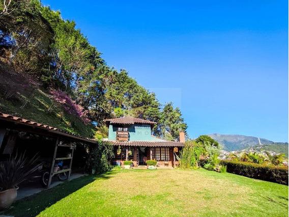 Casa Com 4 Dormitórios À Venda, 231 M² Por R$ 790.000,00 - Jardim Europa - Teresópolis/rj - Ca0457