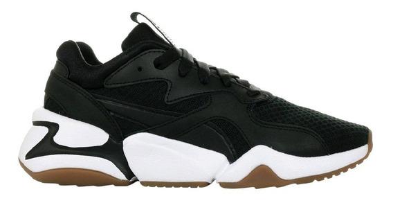 Zapatillas Puma Nova 90 Block Sneakers Negras De Mujer