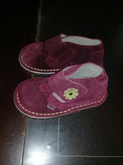 Zapatos Gamuzados Color Bordo ,2 Usos