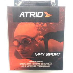 Mp3 Player Atrio, Fones À Prova Dágua, + Brindes Cod430.188