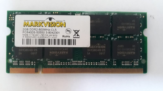 Memoria 2gb Ddr2 667mhz-cl5 Para Notebook