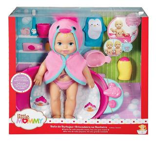 Little Mommy Baño De Burbujas Muñeca Bañera Oferta Envio Ya