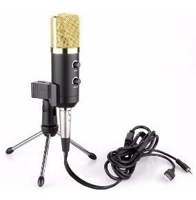 Microfone Mk-f100tl Condensador Usb Profissional Studio