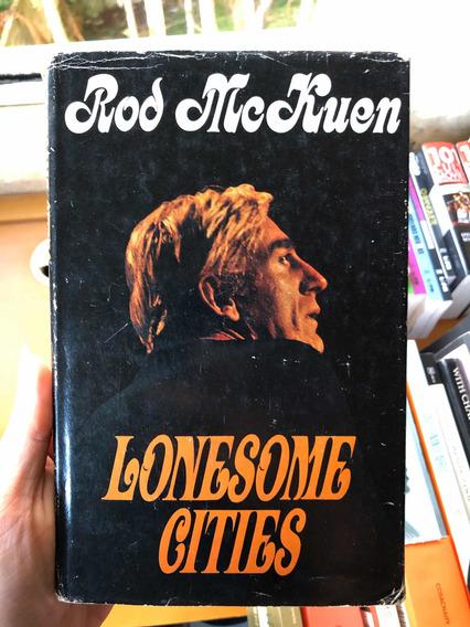 Livro Rod Mckuen Lonesome Cities