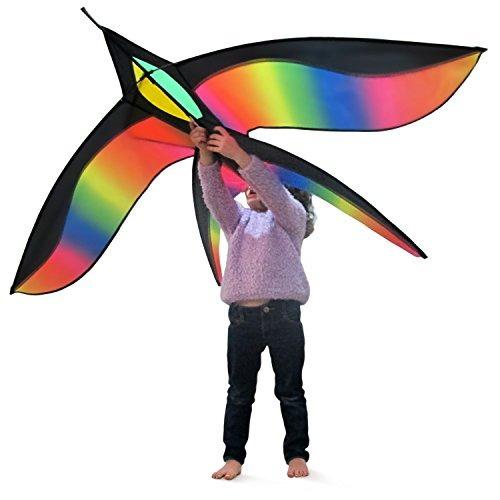 Tomi Bird Kite - Huge Kite - Ideal Para Niños Y Adultos - Fá