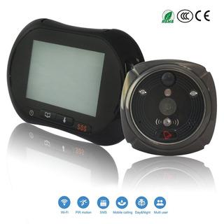 Funxwe Inteligente De 3,7 Monitor Táctil Wifi Timbre De Ll