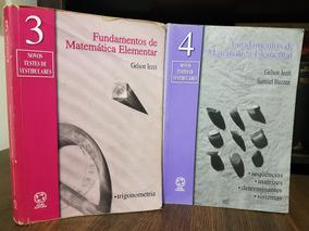 Ime Ita Fundamentos De Matemática Elementar Vols 3 E 4