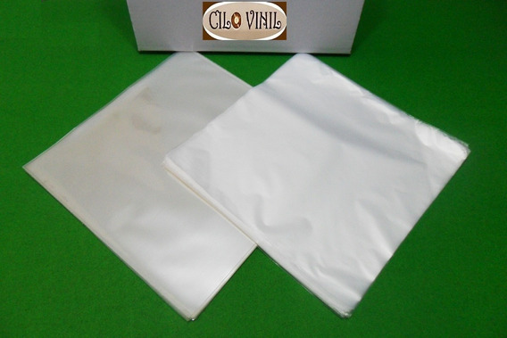 Vinil Lps 400 Plásticos 200 Extra Grosso 0,20 + 200 Internos