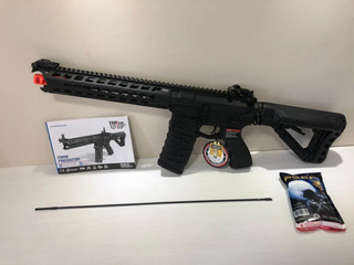 Airsoft Rifle G&g Cm16 Predator 6mm Aeg
