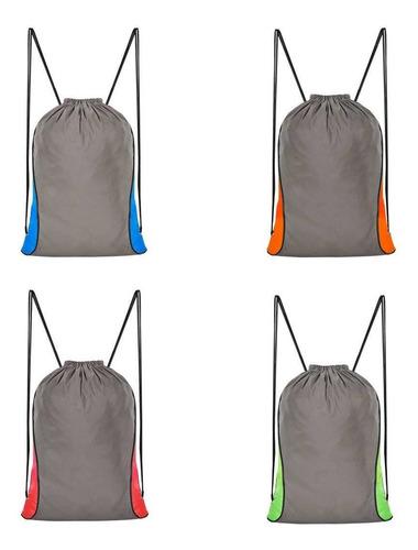 Imagen 1 de 3 de Morral Poliester Con Reflejante Premium