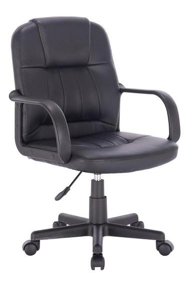 Cadeira De Escritório Gerente Ushuaia Preta