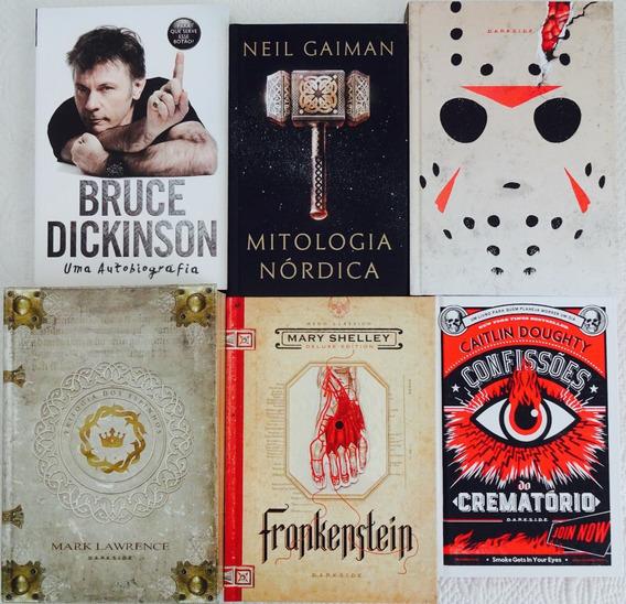 Lote C/6 Livros Frankenstein Bruce Dickinson Sexta-feira 13