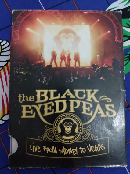Dvd Black Eyed Peas, Live From Sidney To Vegas
