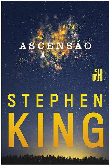 Livro Ascensão Stephen King Capa Dura.