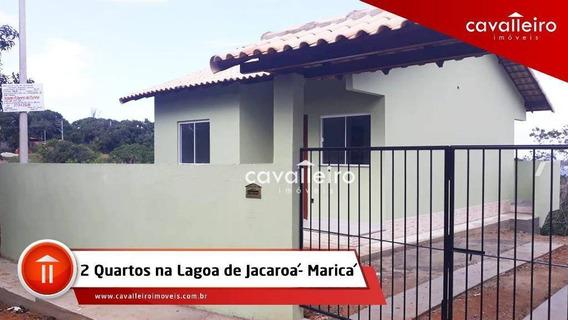 Casa Com 2 Dormitórios À Venda - Jacaroá - Maricá/rj - Ca3575