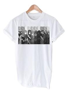 Camiseta Naruto Shippuden Akatsuki Deidara Tobi Hidan