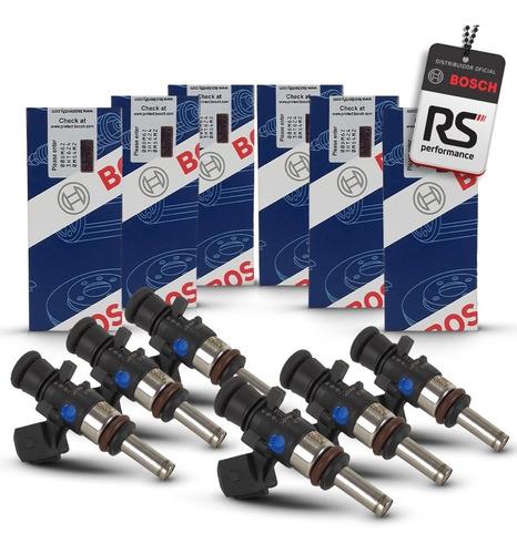 Jogo 6 Bicos Injetores Bosch 80 Lbs/h 280 158 209