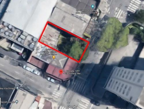 Imagem 1 de 9 de Terreno À Venda, 200 M² Por R$ 3.400.000,00 - Vila Olímpia - São Paulo/sp - Te0471