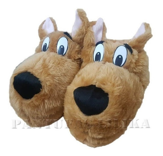 Pantufa Scooby Doo Unisex Oferta Adulto Infantil Barato