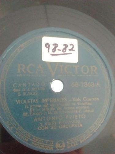 Antonio Prieto Vieri Fidanzini Disco Pasta 68-1363 C23