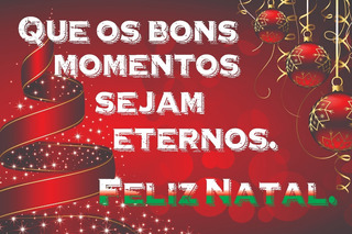 Painel Lona Festa Celebração Natal Feliz Frase