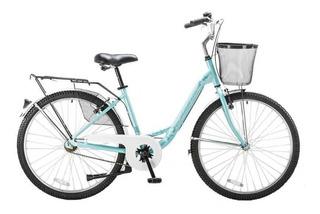 Bicicleta De Paseo Futura Carolina Rodado 26 Otero Hogar