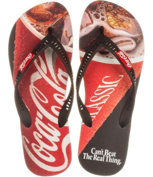 Chinelo Coca Cola Shoes Cc2771 Dedo Masculino