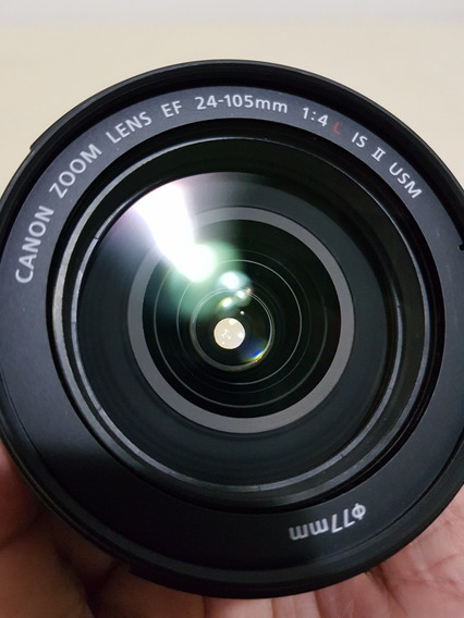 Lente Canon Ef 24-105mm F4 Is Ii Sem Detalhes!