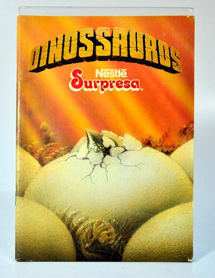 Álbum Nestlé Surpresa - Dinossauros - Vazio - Item 01