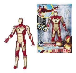 Iron Man 3 Figura Electronica Con Frases Orig. Hasbro A1707