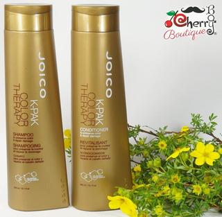 Shampoo Y Acondicionador Joico Kpak Color Therapy Repara Cuida Prolonga Y Protege El Cabello Teñido O Decolorado