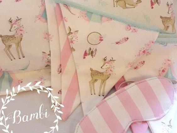 Banderines De Tela! Bambi, Carpitas, Y Más