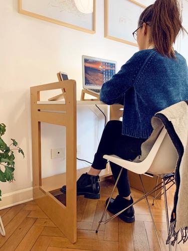 Escritorio Windows ,de Melamina Y Mdf Laqueado