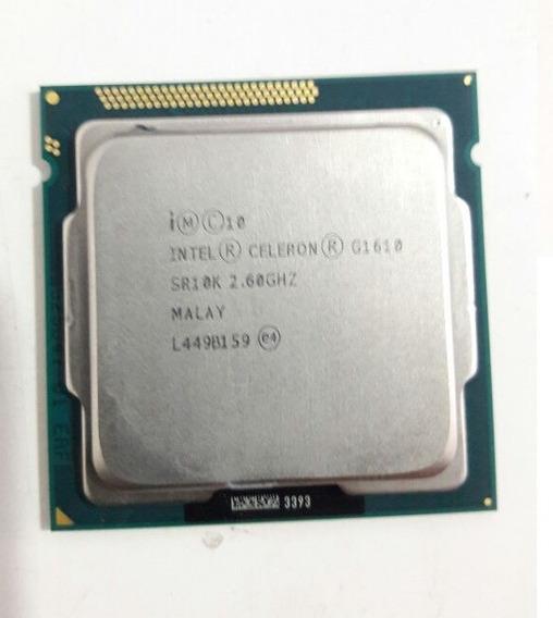 Processador Intel Celeron G1610 2.6ghz Lga 1155