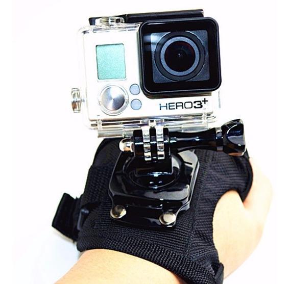 Acessórios Gopro Hero 2 3, 3+ 4 Suporte Luva 360 Mão Wrist
