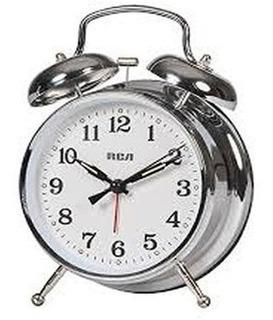 Reloj Despertador Quartz Retro Rca Sonido Campanilla