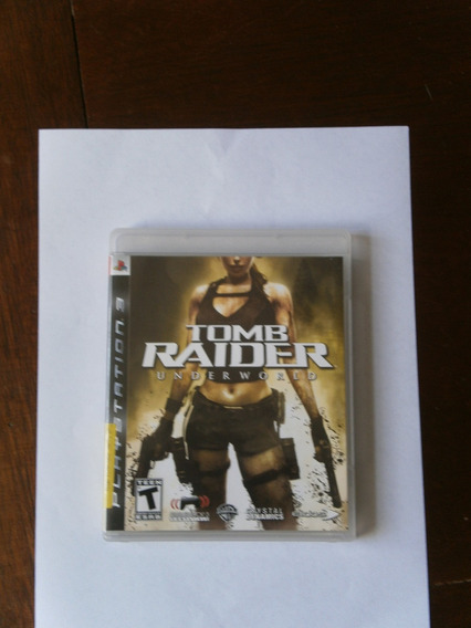 Jogo Ps3 Tomb Raider Underworld