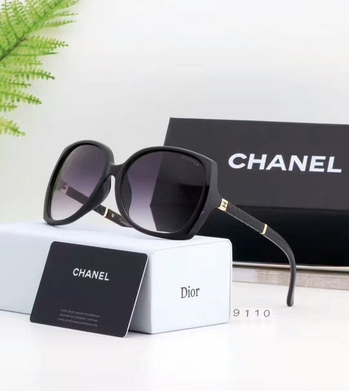 Óculos De Sol Preto Polarizado -promoção