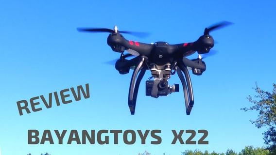 Drone Bayangtoys X22, Gps, 1080p, Gimbal 3 Eixos Zerado