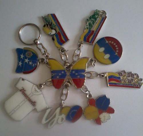 Llaveros Metalicos De Venezuela