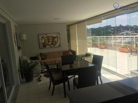 Apartamento Com Garden, 3 Suítes, Terraço Gourmet. - Ap5686