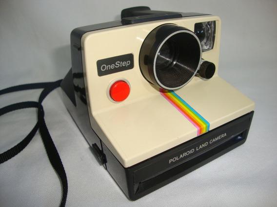 Antiga Polaroid Land Onestep Camera Anos 70 Coleção Cam03
