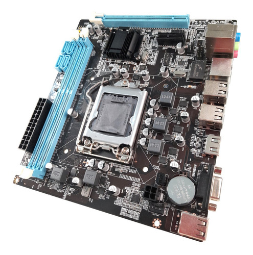 Placa Mãe H61 Chipset Intel 1155 Para Jogos