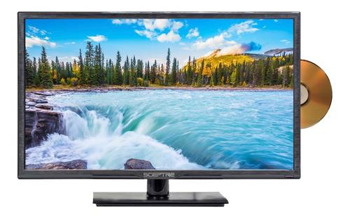 Imagen 1 de 2 de Television Sceptre E246bd-f Full Hd Con Dvd Incluido 24¨ Led