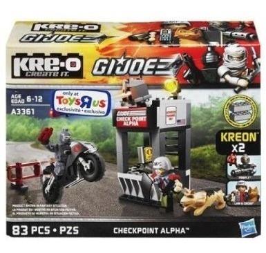 Juego Kreo Creater Alpha Con Figuras Armables (10)